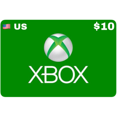 Xbox Gift Card USD $10