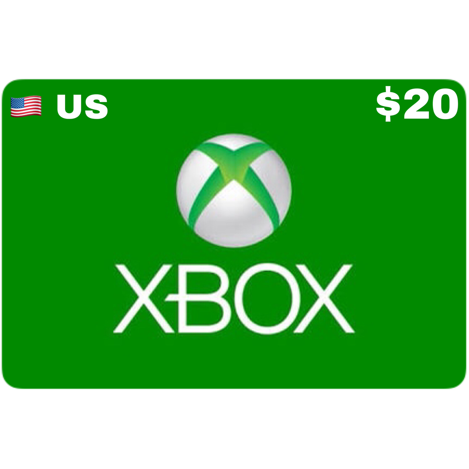 Xbox Gift Card US USD $20