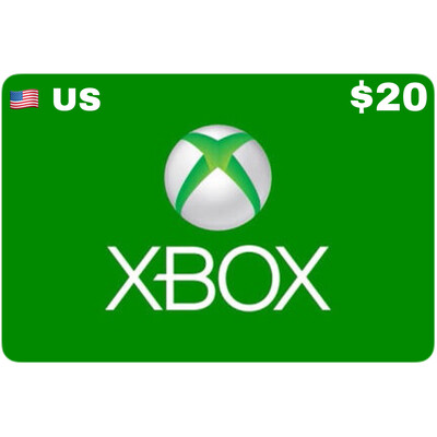 Xbox Gift Card USD $20