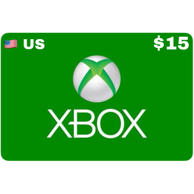 Xbox Gift Card USD $15