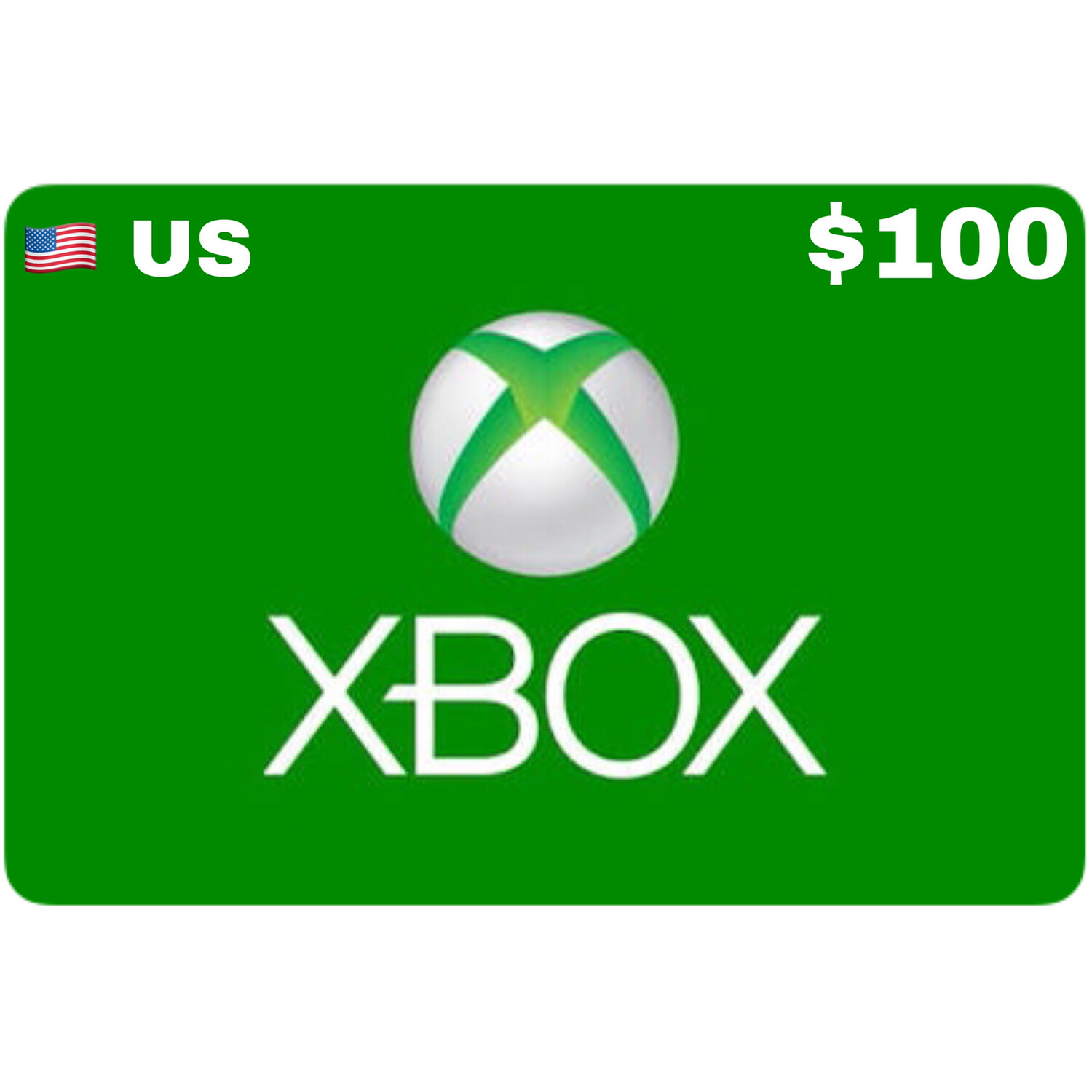 Xbox Gift Card US USD $100