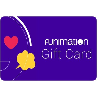 Funimation Gift Card
