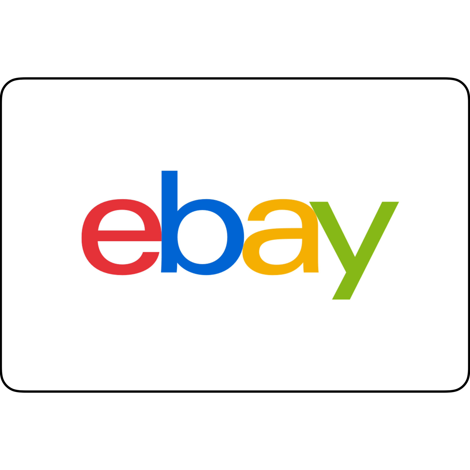 Ebay Gift Card US $50
