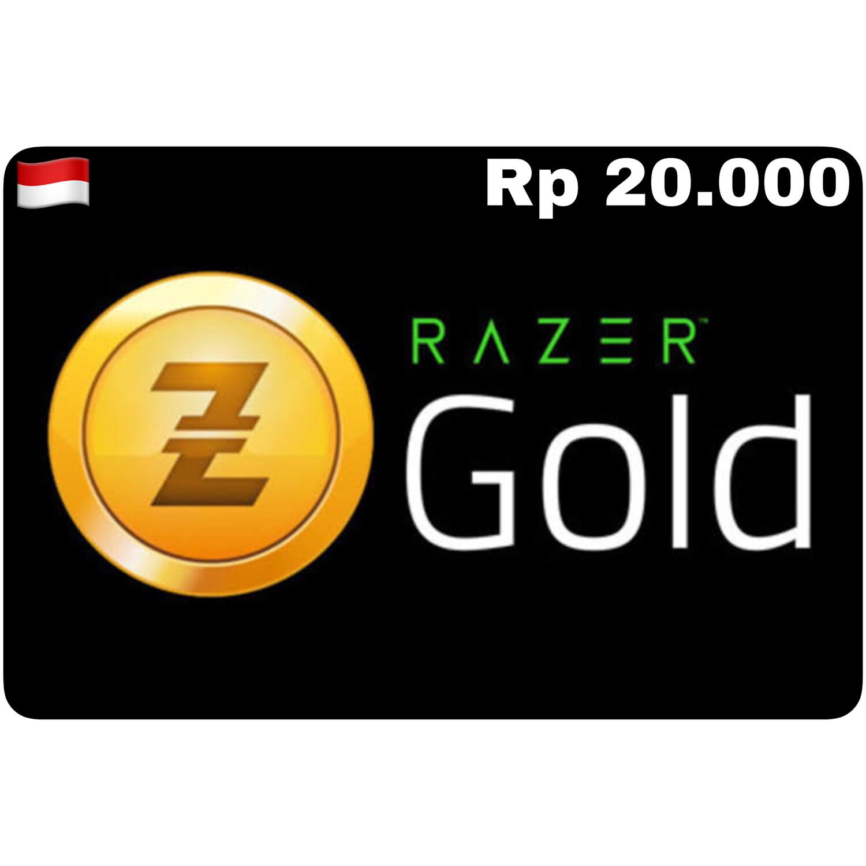 Razer Gold Pin ID Rp 20.000