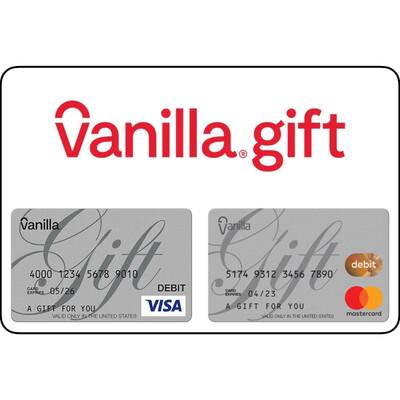 Vanilla Visa Mastercard Gift Card US