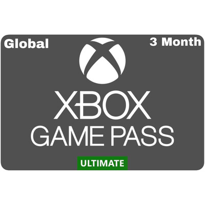 Xbox Game Pass 3 Month Ultimate Global