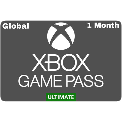 Xbox Game Pass 1 Month Ultimate Global