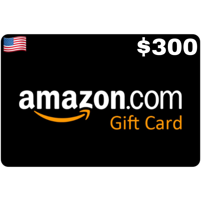 Amazon.com Gift Card US $300