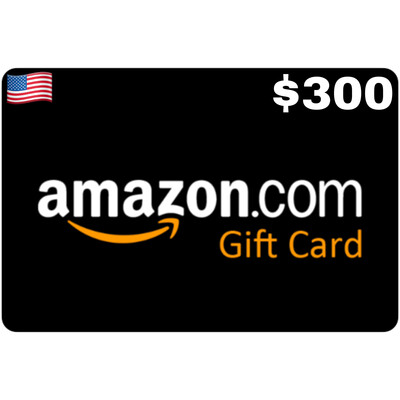 Amazon.com Gift Card US $300