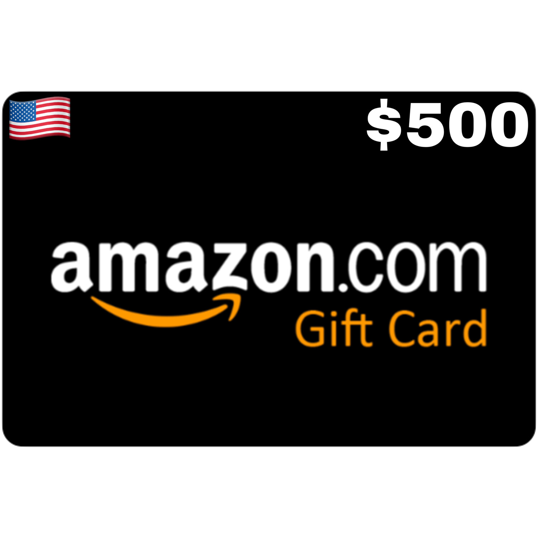 Amazon.com Gift Card US $500