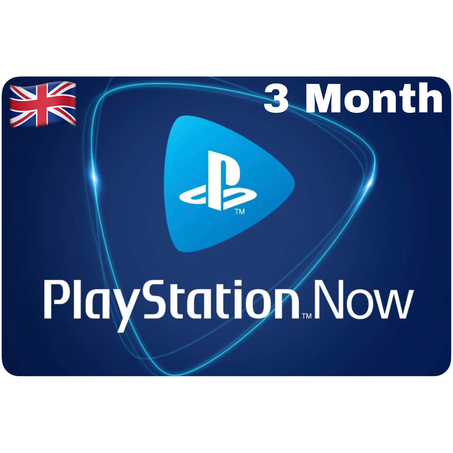 Playstation Now UK 3 Month Subscription