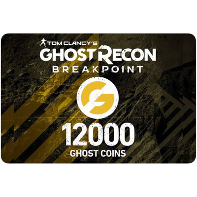 Tom Clancy Ghost Recon Breakpoint: 12000 Ghost Coins for PS4