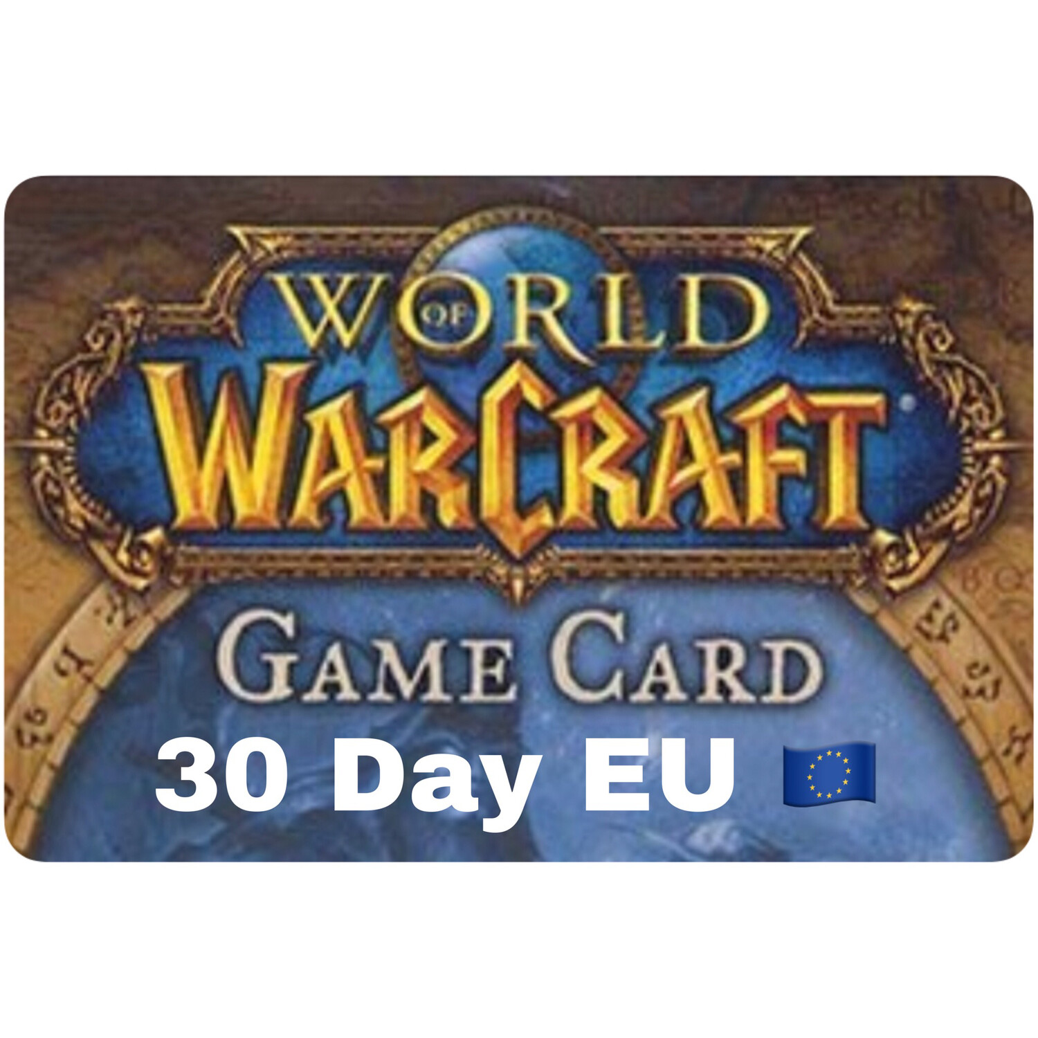 World of Warcraft 30 Day EU Game Card