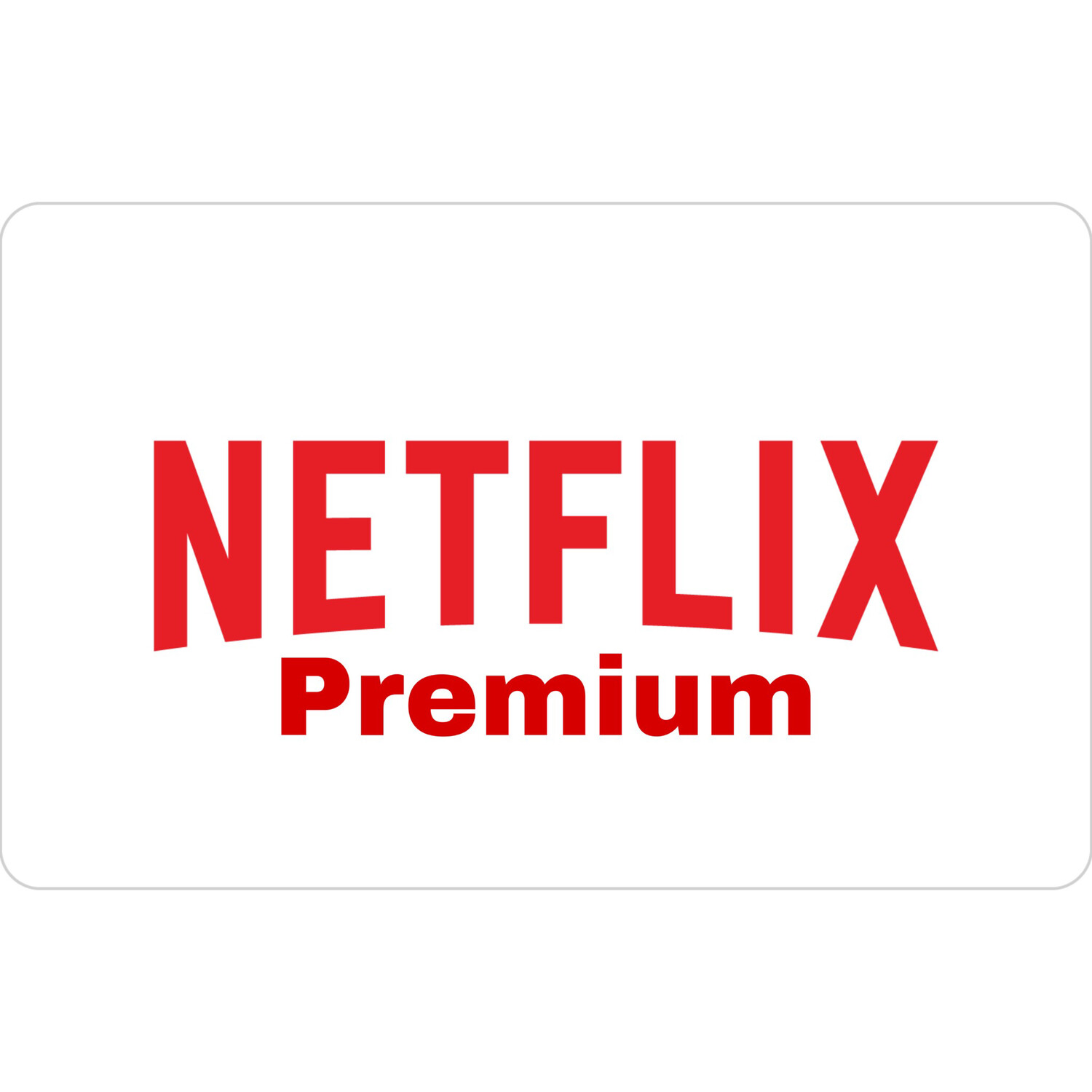 Netflix Premium 1 Bulan 4 Profil Shared Account