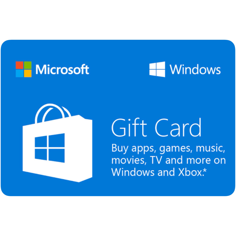 Microsoft Windows Gift Card