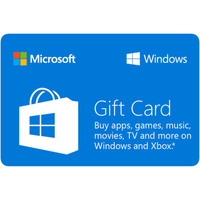 Microsoft Windows Gift Card