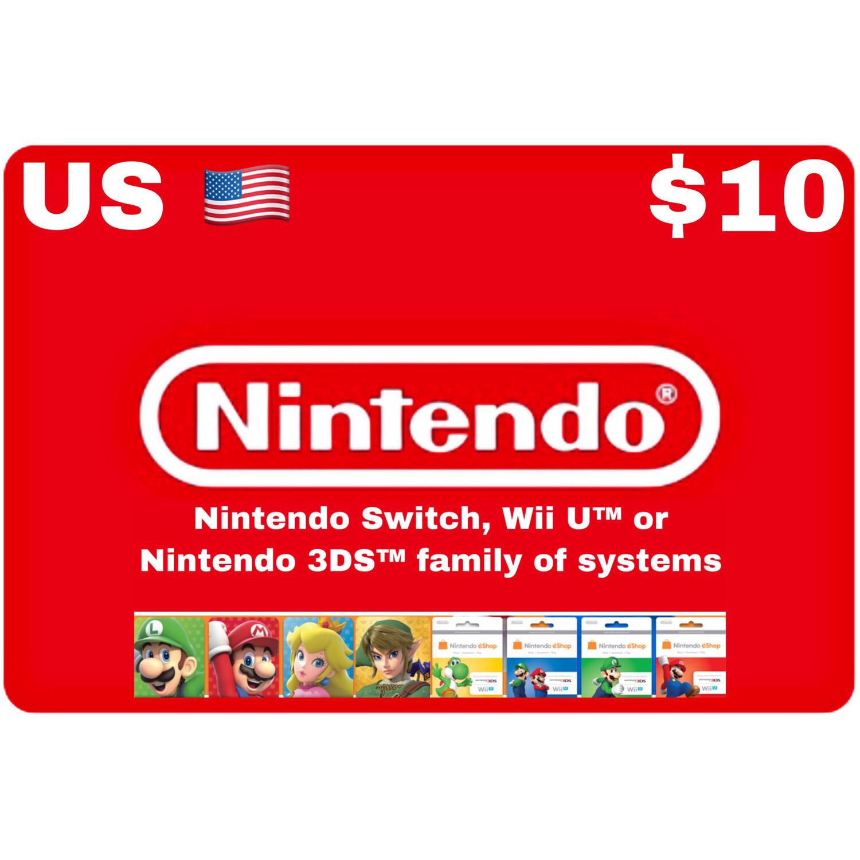 Nintendo eShop US USD $10