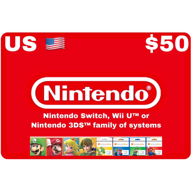 Nintendo eShop US USD $50
