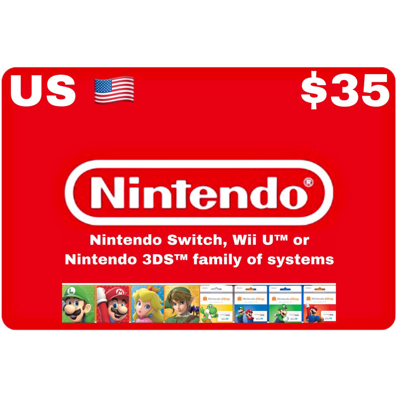 Nintendo eShop US USD $35