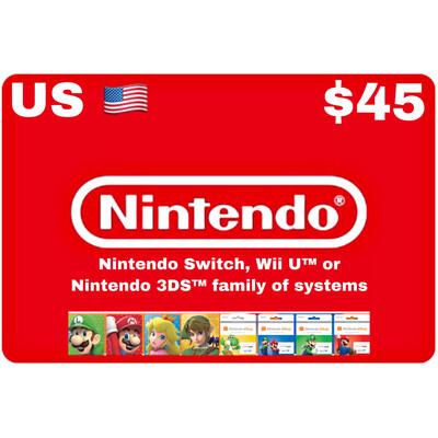 Nintendo eShop US USD $45