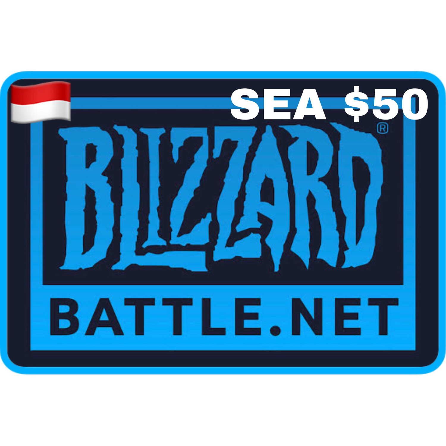 Battle.net Gift Card SEA $50 Blizzard Balance Code