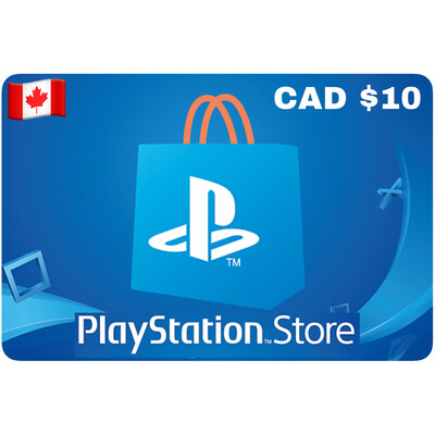 Playstation Store Gift Card Canada $10