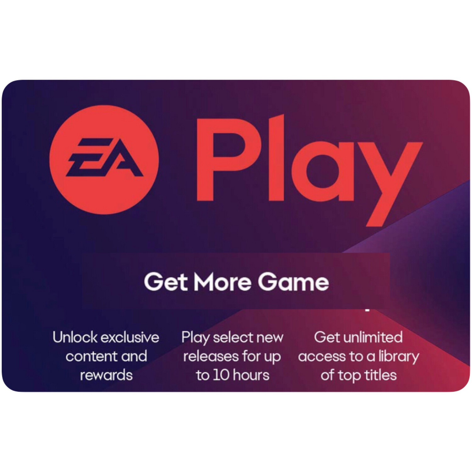 EA Play Gift Cards