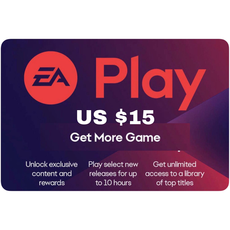 EA Play Gift Card US $15
