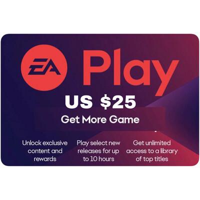 EA Play Gift Card US $25