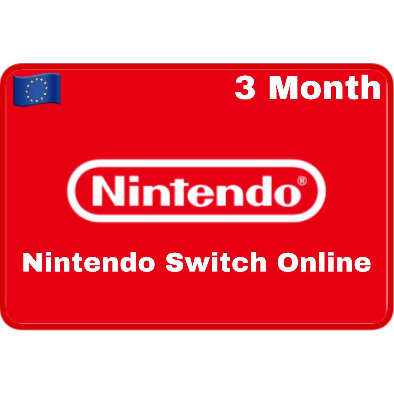 Nintendo Switch Online 3 Months Europe Individual Membership