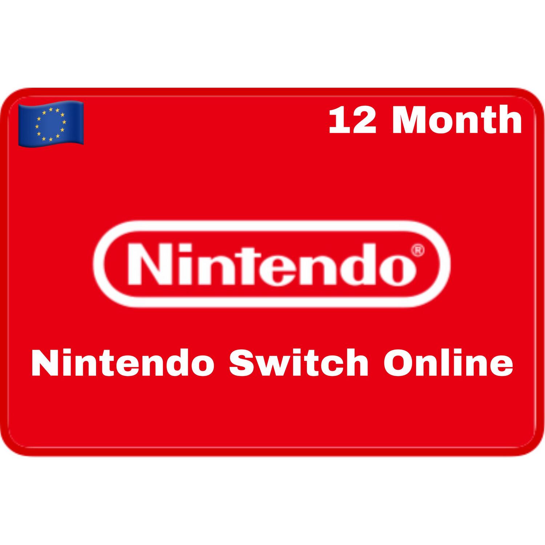 Nintendo Switch Online 12 Months Europe Individual Membership