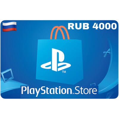 Playstation Store Gift Card Russia RUB 4000