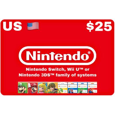 Nintendo eShop US USD $25
