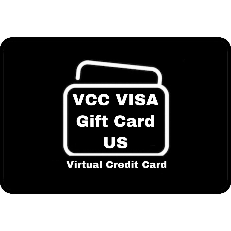 VCC VISA Gift Card US USD
