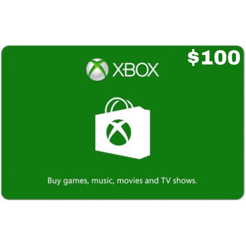 Xbox Gift Card USD $100