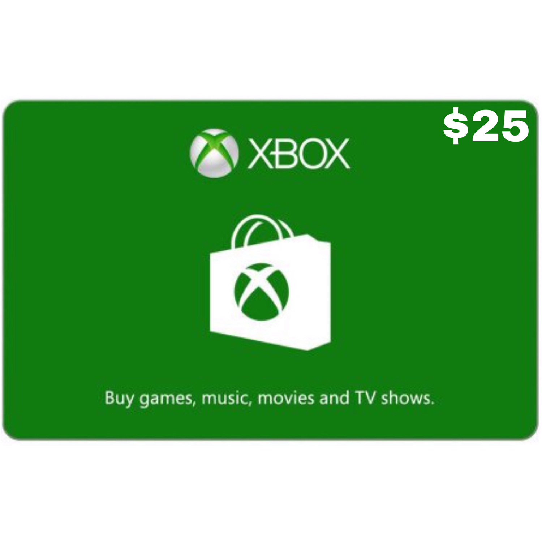 Xbox Gift Card USD $25
