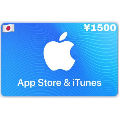 Apple iTunes Gift Card Japan ¥1500 YEN