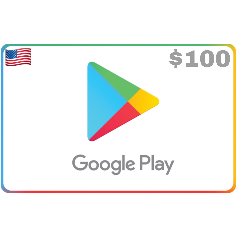 Google Play US USD $100