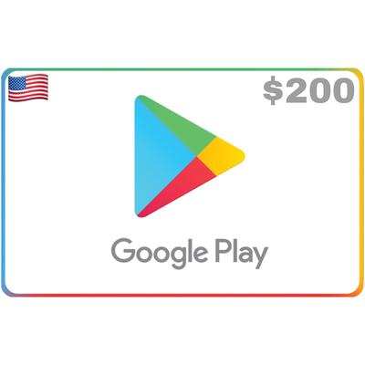 Google Play US USD $200