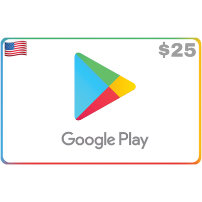 Google Play US USD $25