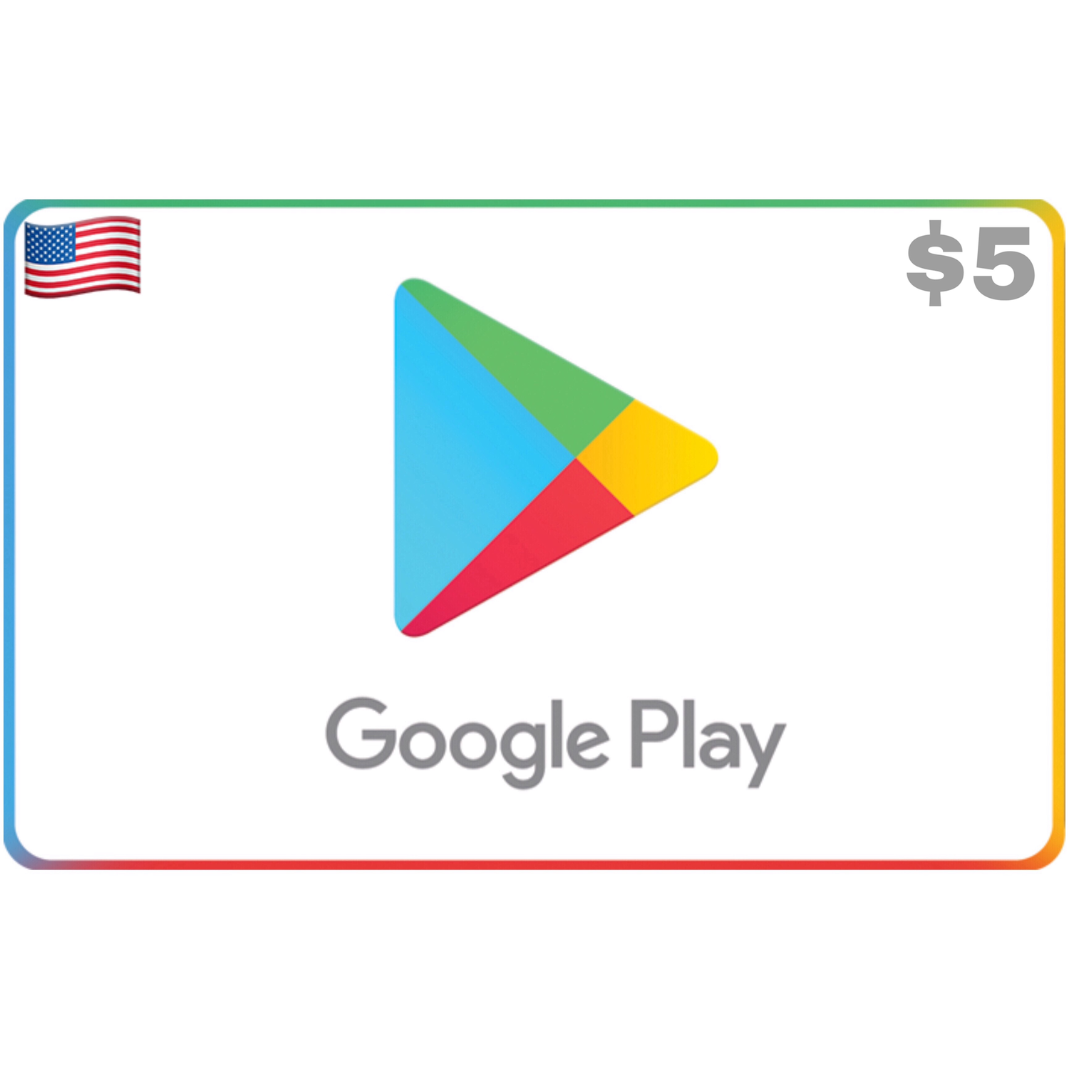 Google Play US USD $5
