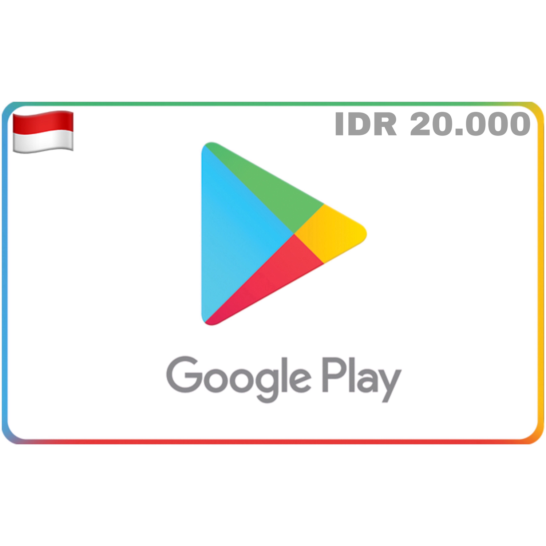 Google Play Indonesia IDR 20.000