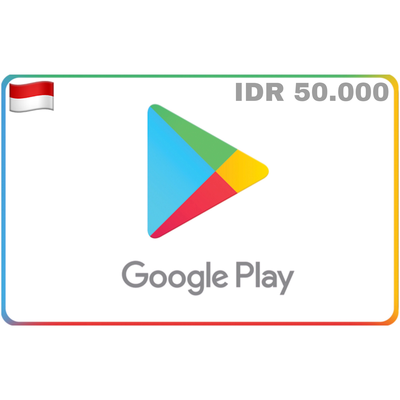 Google Play Indonesia IDR 50.000