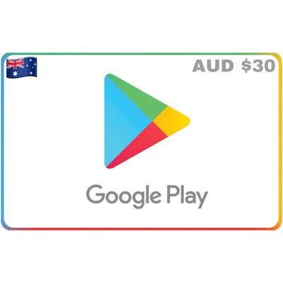 Google Play Australia AUD $30