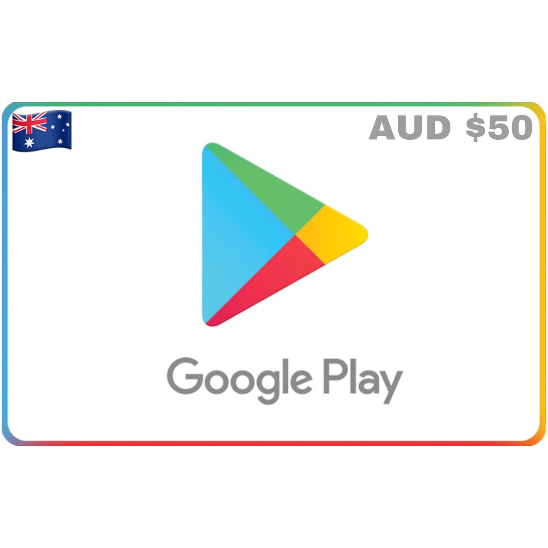 Google Play Australia AUD $50