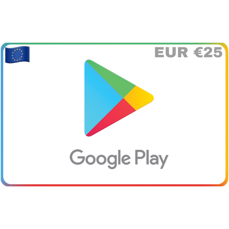 Google Play Europe EUR €25
