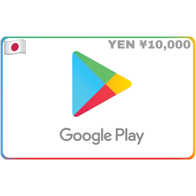 Google Play Japan ¥10000 YEN