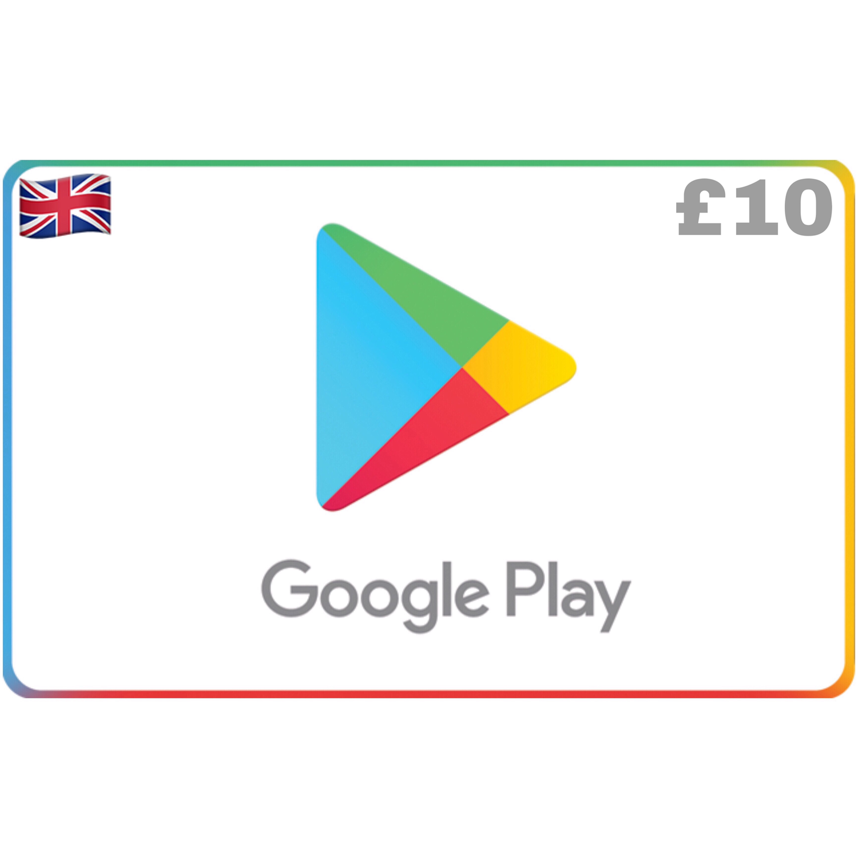 Google Play UK GBP £10