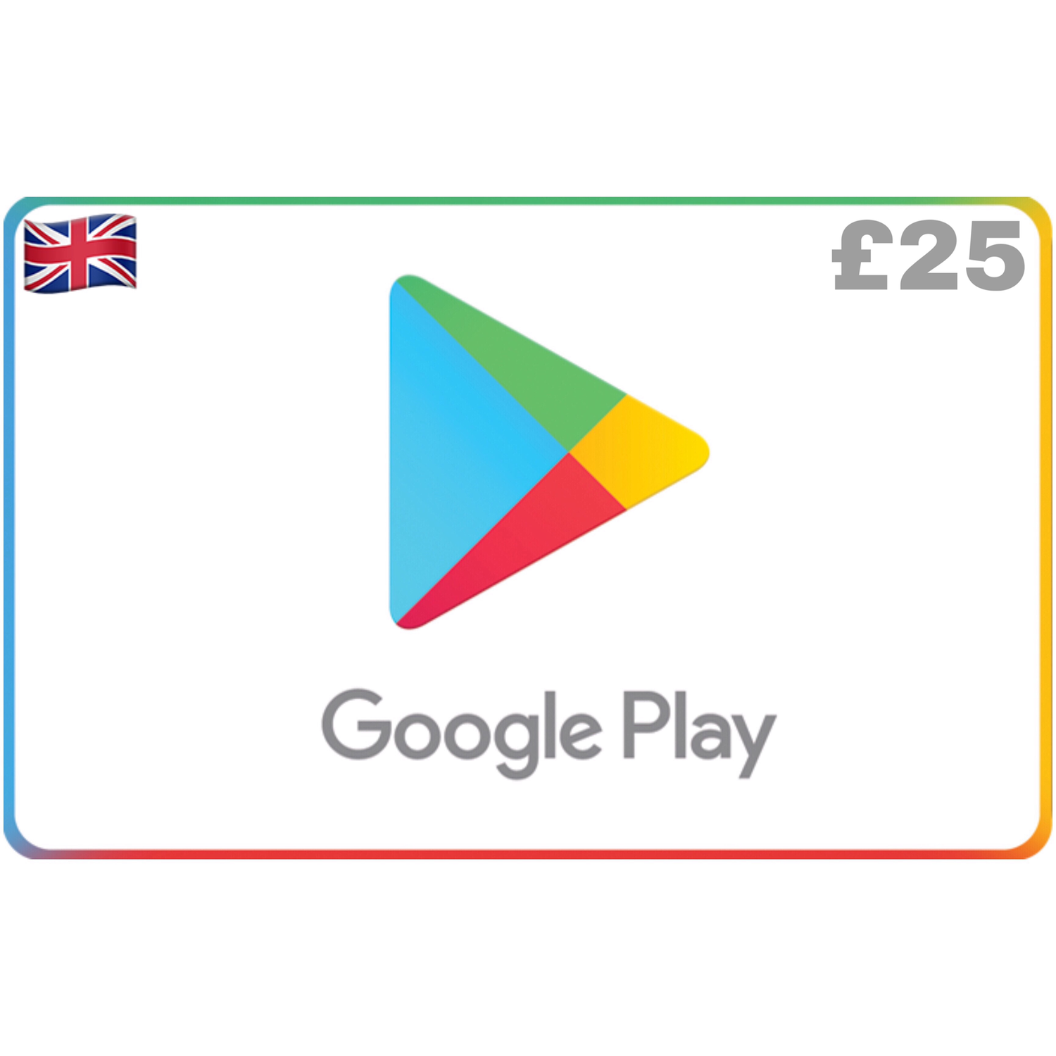 Google Play UK GBP £25
