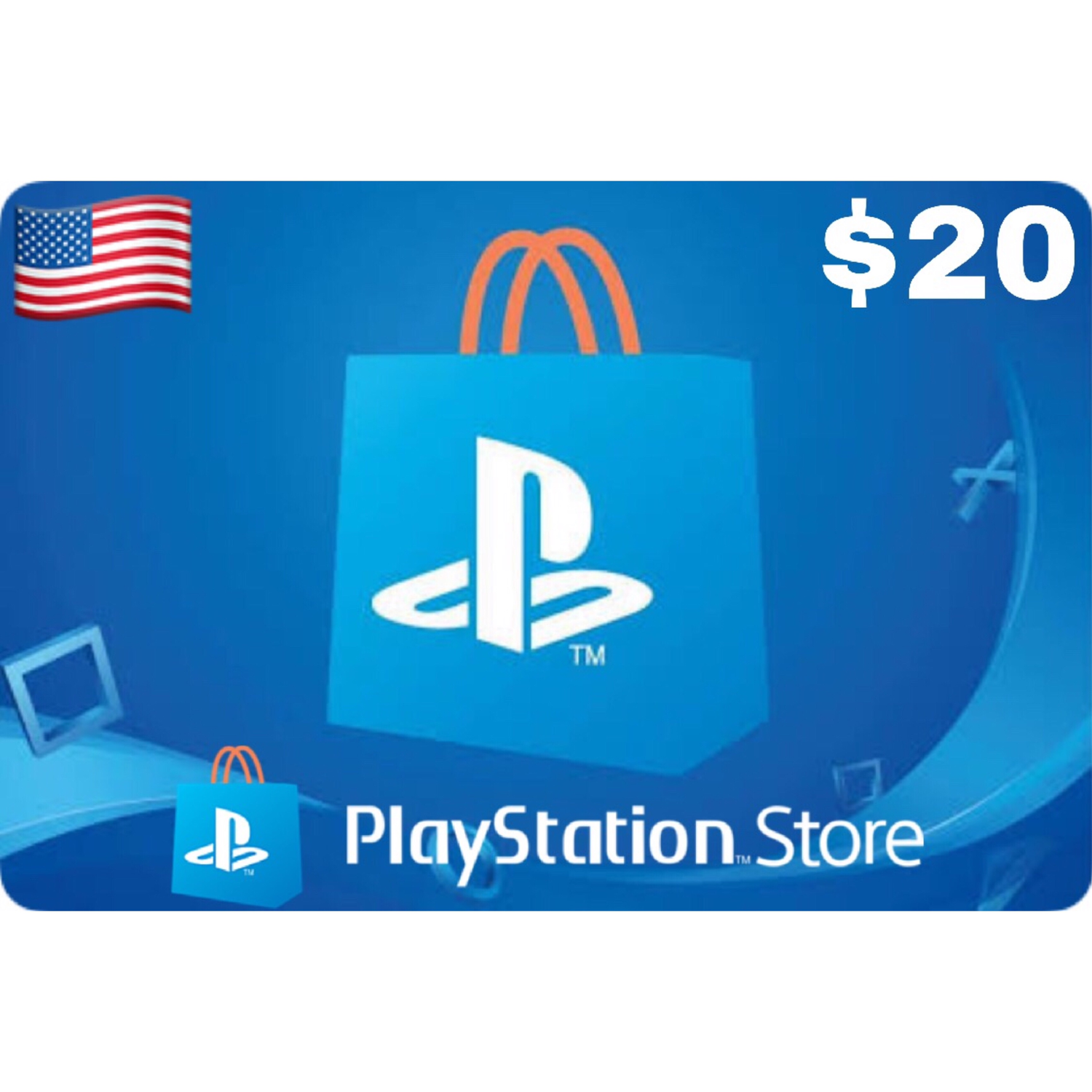 Playstation (PSN Card) USA $20
